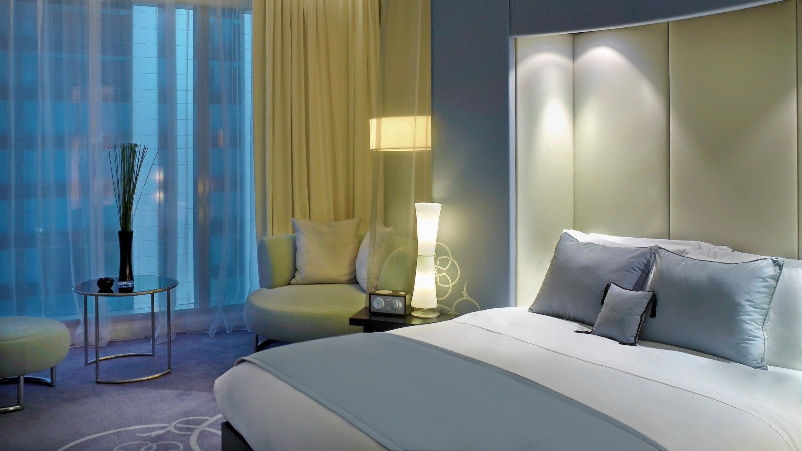 W doha hotel residences 5 star hotel in doha for W hotel bedroom designs