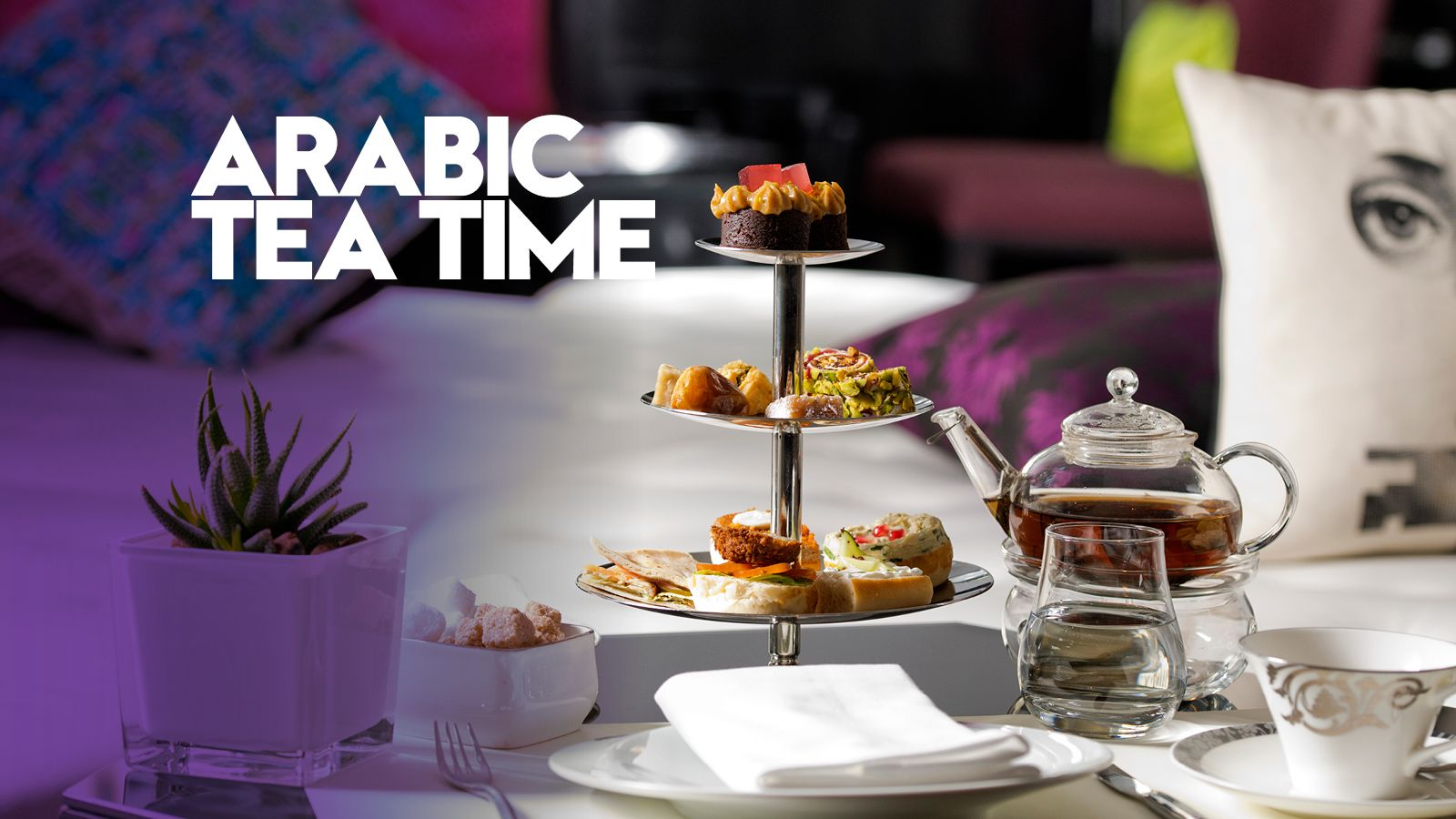 Arabic Tea Time @ Living Room